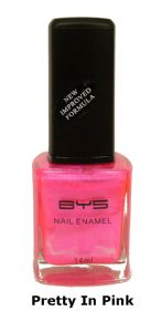 <b>BYS Nail Polish - Pretty in Pink No. 27</b>